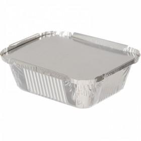 Комплект алюминиевых форм 430мл. 24L  с крышкой (5 шт/уп.)