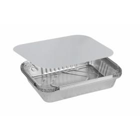 Комплект алюминиевых форм 960мл. 64L  с крышкой (3 шт/уп.)