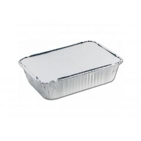 Комплект алюминиевых форм 900мл. 62L  с крышкой (3 шт/уп.)
