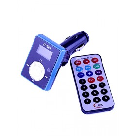 FM-модулятор  MP3 (USB/SD/Micro SD/дисплей/пульт) KD-803 в асс.